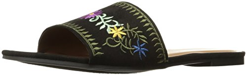 Indigo Rd. Women's Colten Slide Sandal, Black, 9 M US