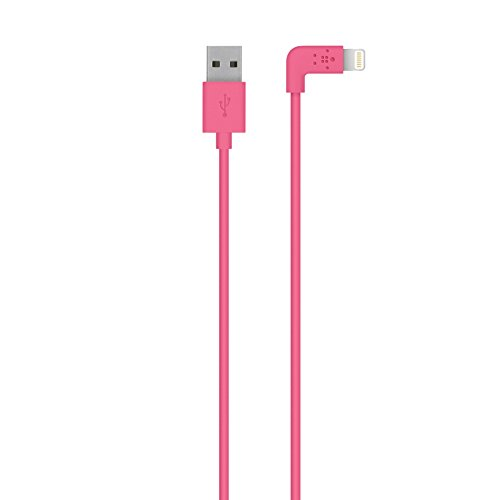(Belkin Apple Certified MIXIT 4-Foot 90 Degree Lightning to USB Cable (Pink))