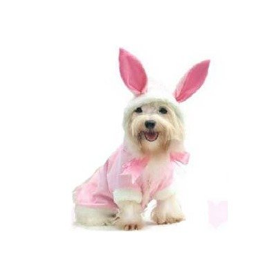 Bunny Dog Costume Size: 3 – (10.75″ L), My Pet Supplies