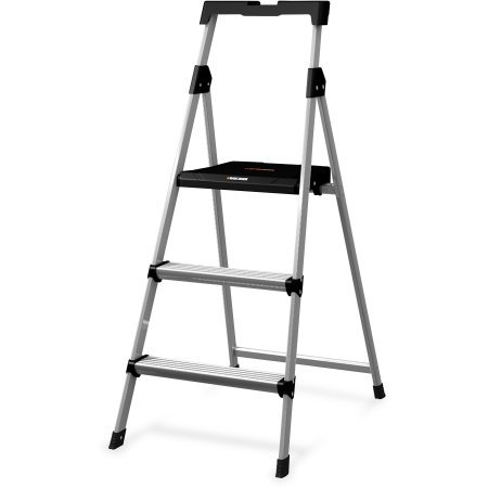 Louisville 3' Steel Step Stool with Slots