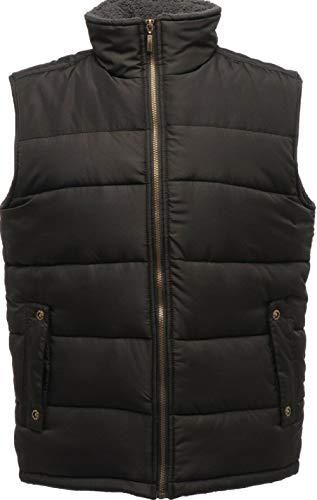 Absab negro sin abrigo mangas Ltd Hombre rHqwrF