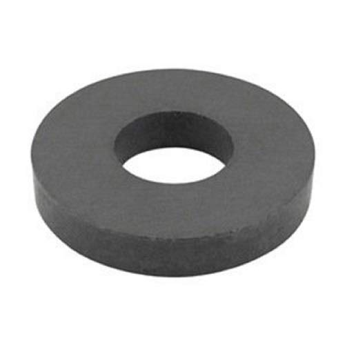 (Cedmon Ferrite Ring Magnet, Ceramic for Science Experiment (OD60×ID32×10mm), Pack of 2)