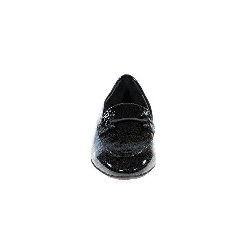 Donna Carolina 33.135.158 Pantofola / Mocassino Nero Nuovo Donna In Comoda Altezza Del Tacco Con Un Pavimento Più Leggero