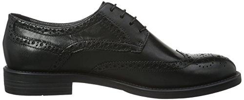 Vagabond Amina, Zapatos de Cordones Derby para Mujer Negro - Schwarz (20 Black)