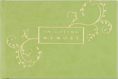 - In Loving Memory Guest Book (Memorial Book, Funeral Book)