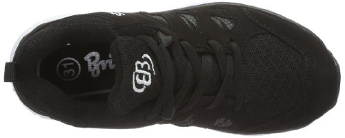 Bruetting Spiridon Fit 591019 - Zapatillas de fitness de nailon para hombre Negro