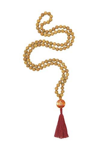 Gemstone Rudraksha Mala, 108 Beads