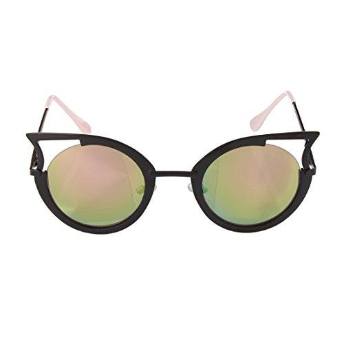 Betsey Johnson Women's BJ475103 Black - Betsey Sunglasses Eye Cat Johnson