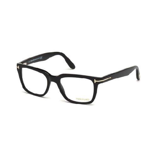 Tom Ford for man ft5304-001, Designer Eyeglasses Caliber 52 (Designer Brille Uk)
