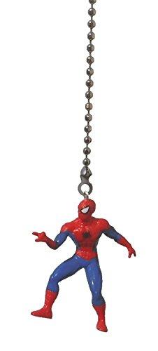 SPIDERMAN spider man superhero super hero Marvel comics vinyl Ceiling FAN PULL light chain (Web Slinger)