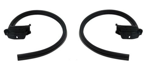 1993 - 2002 Rear Door Opening Frame Rubber Weatherstripping Seals, Convertible Rear Door Seal Weatherstripping