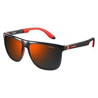 7823983e11 Carrera Wayfarer Sunglasses (Grey Red) (CARRERA-5003 SP-268CT)  Amazon.in   Clothing   Accessories