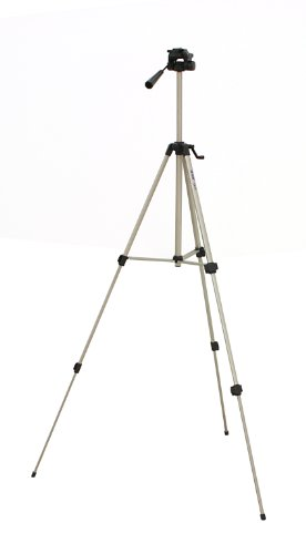 Photo - Kitvision Medium Camera Tripod - Silver / Black