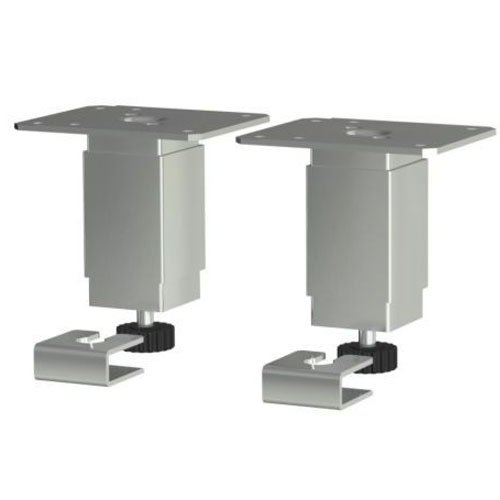 Gentil Ikea Set Of 2 Utby 4? To 5 ½? Height Adjustable Cabinet Leg Stainless Steel  Anchor: Amazon.co.uk: DIY U0026 Tools