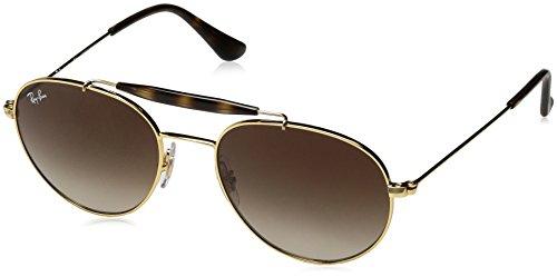 Ray-Ban Junior Kids' 0rj9542s223/1350metal Unisex Round Sunglasses, Gold, 50 - Junior Sunglasses Ban Ray Clubmaster