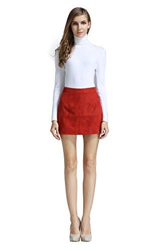 red mini skirt - 9