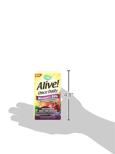 033674156926 - Nature's Way Alive! Once Daily Women's 50+ Ultra Potency Multi-Vitamin Supplement, 60 Tablets carousel main 8