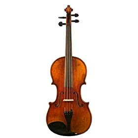 D Z Strad Violin Model 800 Full Size 4/4 with Dominant Strings, Bow, Case and Rosin (Full Size - 4/4) 6