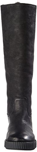 Nero Donna 0001 Arricciati Amsterdam Shabbies Stivali black xq7zpTIn