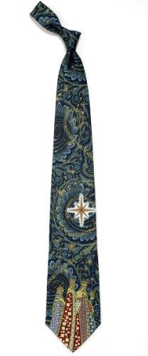 Mens 100% Silk Christmas Wisemen & Star Necktie Tie Neckwear