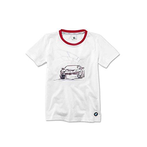 BMW T-Shirt Graphic Kids Medium White