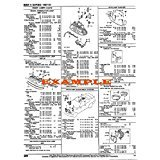 1973 - 1974 DODGE CHALLENGER PART NUMBERS, LABOR & PRICE ILLUSTRATED SHEETS [CD-ROM]