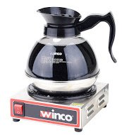 Winco ECW-1, 1-Burner Electric Coffee Warmer, Hot Plate to Keep Coffee Hot and Delicious, 100 W
