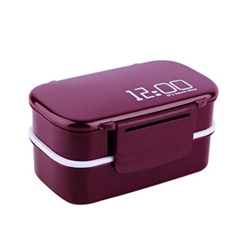 Three Layers Microwave Boxs Food Storage Container Lunch Boxes Dinnerware Useful Kitchen Tools