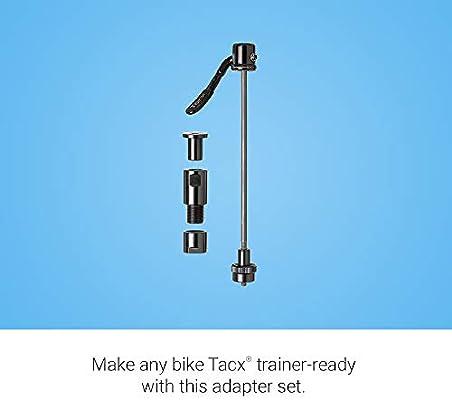 Tacx - Accesorio para Bicicletas, 135 x 10 mm, Unisex-Adult, Negro, Talla única: Amazon.es: Deportes y aire libre