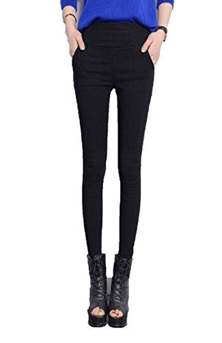 Small-shop Women Camouflage Print Women Slim Pants Sexy Women Long Leg Pants,Black,XXL by Small-shop
