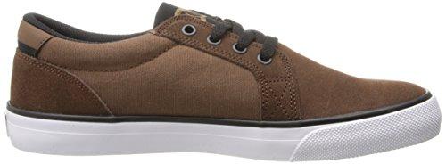DC Shoes Council SD - Zapatillas Bajas para Hombre, Color Marrón Oscuro, Talla 41 L