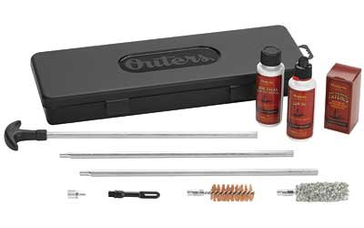 Outers 12 Gauge Aluminum Rod Shotgun Cleaning Kit (Hard Case)