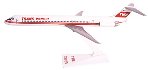 Flight Miniatures TWA Trans World Airlines 1974 McDonnell Doug MD-83 1:200 Scale