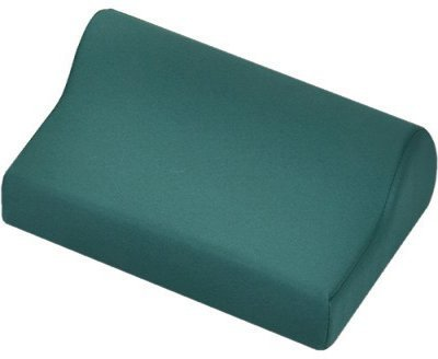 Massage Neck Bolster 14.5'' X 9.5'' X 3.5''-TEAL