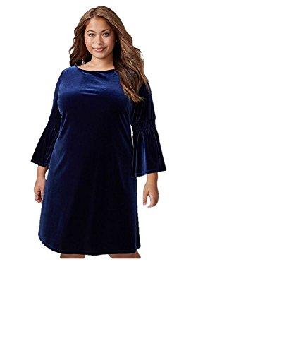 Lane Bryant 3/4 Sleeve Velvet (Lane Bryant Dress)