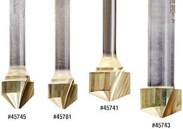 Folding For Composite Material Panels Like TC Amana Tool 45781 Carbide V-Groove 108 Deg