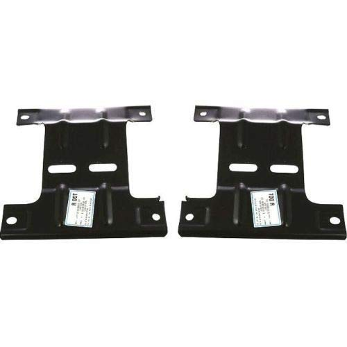 Parts N Go 1997-1998 F150 Pickup 2WD Bumper Bracket Front Driver & Passenger Left/Right Hand - F65Z17B985AA, FO1067127