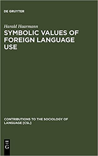 Symbolic Values of Foreign Language Use: From the Japanese Case to a General Sociolinguistic Perspective Contributions to the Sociology of Language CSL: ...