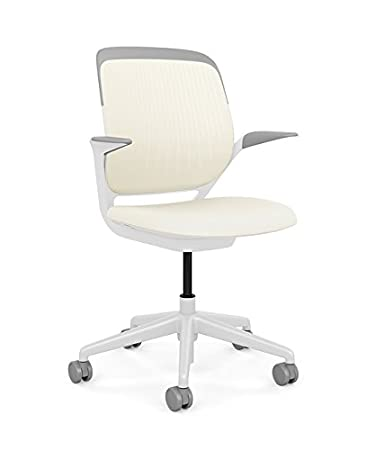 Steelcase Cobi Office Chair: Arms With Soft Arm Caps   Standard Carpet  Casters
