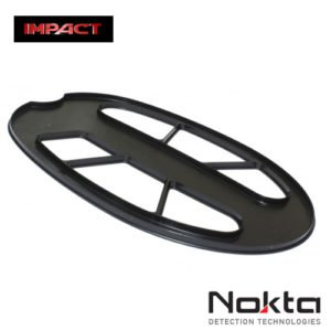 "salvapiastra para metal detector Nokta Impact copripiastra Salva placa de 11 ""x 7"