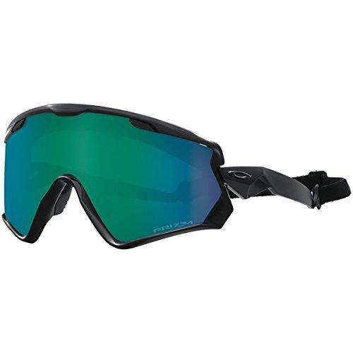 Oakley Wind Jacket 2.0 Snow Goggles, Matte Black, Prizm Jade Iridium, One - Goggles Best Oakley Ski