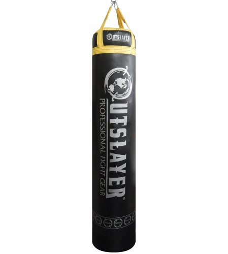 Outslayer Muay Thai Punching Bag 6ft Tall 130 Pounds Filled Heavy Bag Made in USA