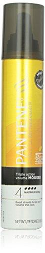 Pantene Pro-V Triple Action Объем Максимальное держать волосы мусс 6,6 Oz (в упаковке 3)