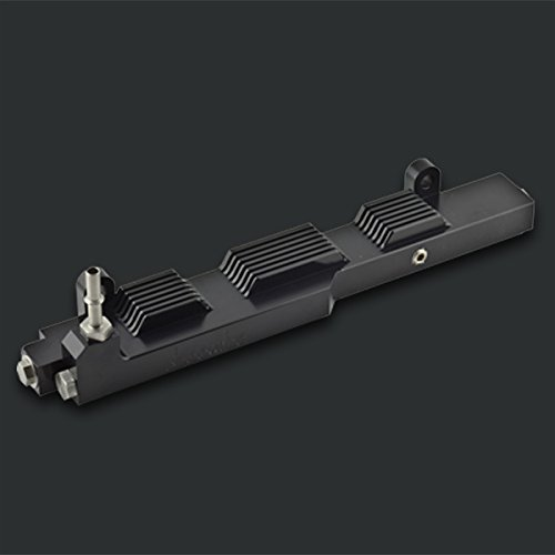 Boomba Racing FUEL RAIL BLACK for 2003-05 Dodge Neon SRT-4