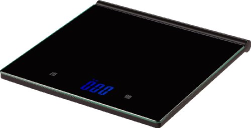 (Salter Ultra Thin Glass Kitchen Scale, Weighs to 11-Pound)