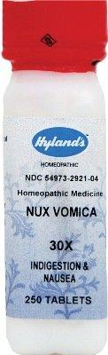 (Nux-vomica - 30X -250 tabs Brand: Hylands (Standard Homeopathic))