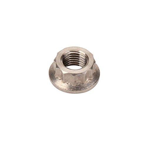 Titanium 3/8-24 Inch Thread, 12 Point Nut