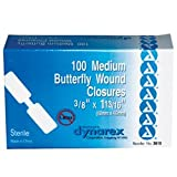 Adhesive Bandages Butterfly Box of 100 (BOX)