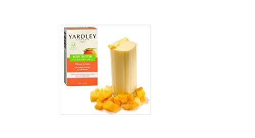 Yardley London Cleansing Bar, Body Butter, Mango Cream 4.5 o