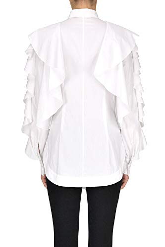Battaglia Ezgl101006 Blanco Sara Camisa Algodon Mujer HUzq0qw